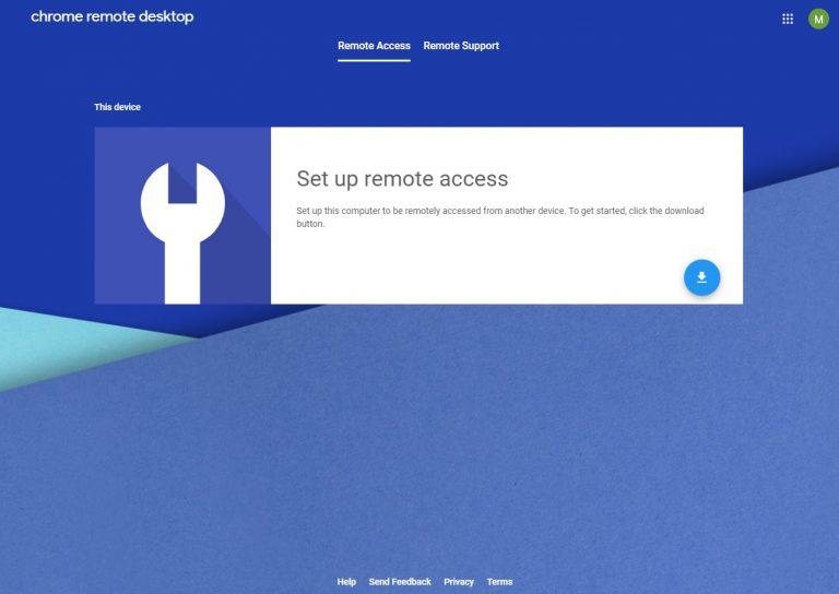 Remote Desktop Extension for Google Chrome | almuniz com